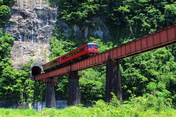百枝鉄橋と百枝トンネル