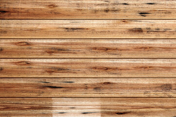 Wood wall for text and background.