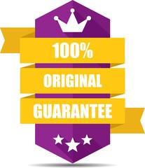100% Original purple label and sign.