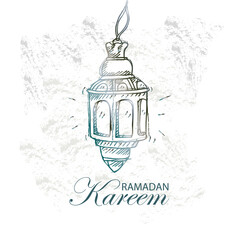 Ramadan Kareem Design Background.