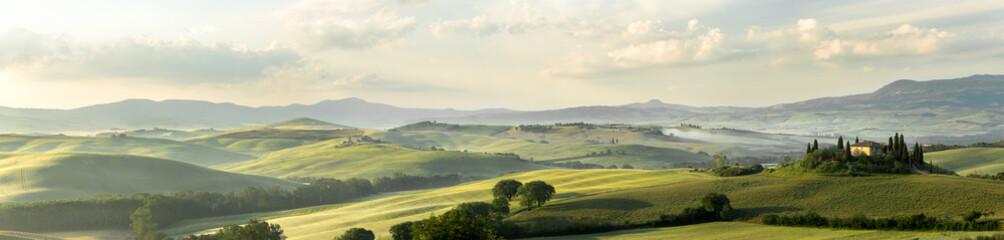 Foto auf Acrylglas Toskana Tuscan panorama
