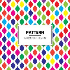 Modern stylish abstract geometric background