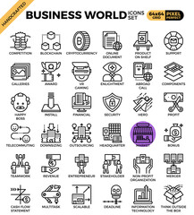 Business World Icons