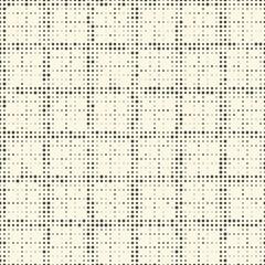 Seamless Stripe Pattern. Vector Monochrome Dot Texture