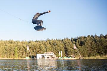 wakeborders jump
