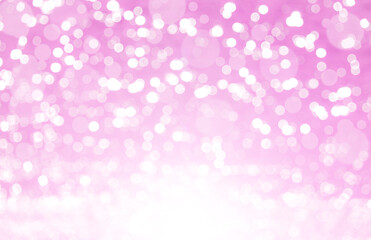 Pink sparkeling bokeh background