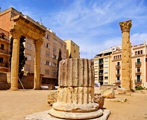 Colonial Forum of Tarraco, in Tarragona, Spain