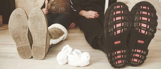 Futurs parents, tailles des chaussures