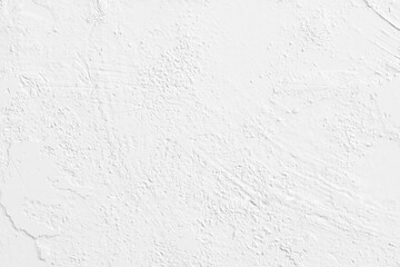 White grunge plaster wall background