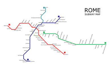 Rome subway plan