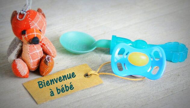 concept naissance,bienvenue à bébé