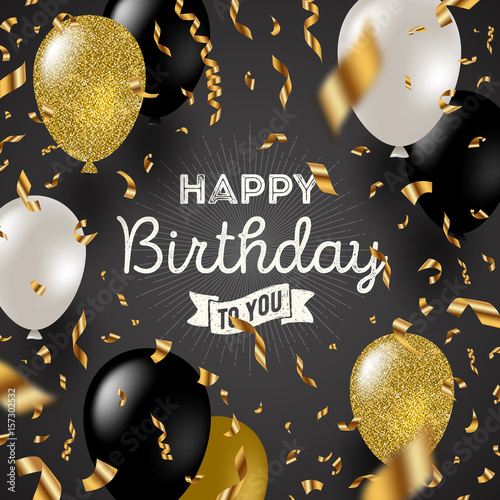 """Happy Birthday Wishing Cards And Wallpapers: """"Happy Birthday Vector Illustration"""