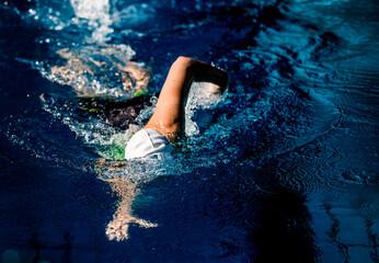 Freistilschwimmer