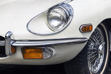 Classic mid-20th century sports car