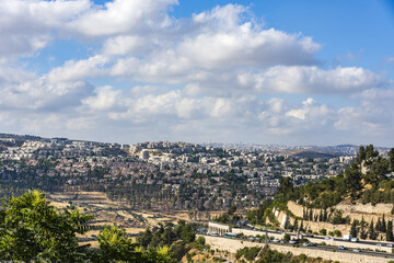 Jerusalem new residential area New Panorama