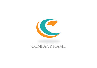 curve letter c company logo