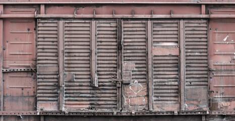 old metal door