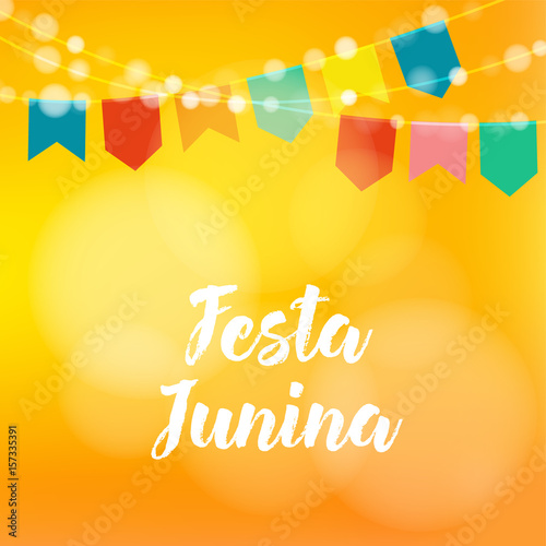 Brazilian festa junina greeting card invitation party decoration brazilian festa junina greeting card invitation party decoration string of lights paper stopboris Gallery