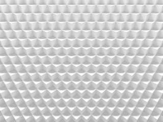 White cubes clean background picture. 3D illustration. This image works good for text and website background, print and mobile application.