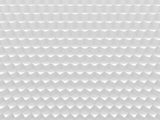 White glamour cubes. Geometric background texture works good for text and website backgrounds, poster and mobile application. 3D illustration.