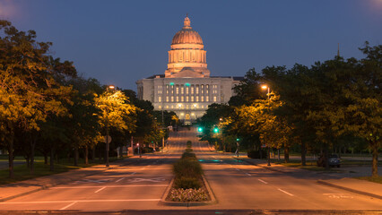 Street View Jefferson City Missouri State Capital Building