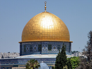 Jerusalem Dome of Rock Mosque May 2010