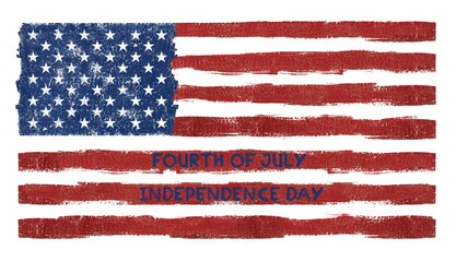 fourth of july Independence day American flag