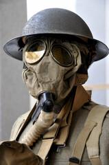 Vintage gas mask