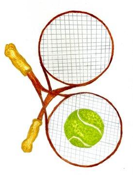 Tennis Ball Sketch