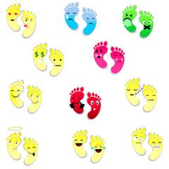 foot print emojy