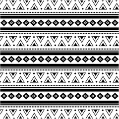 boho style background. black and white design. vector illustration