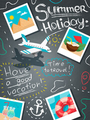 Summer Holiday Design Concept