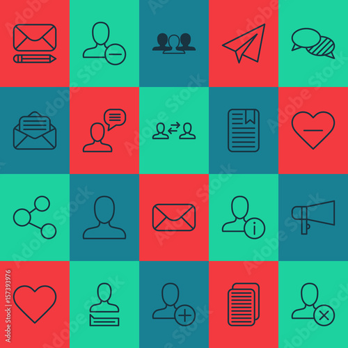 Communication Icons Set Collection Of Bullhorn Business Exchange