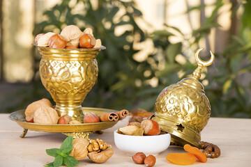 Ramadan Nuts Background