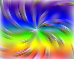 Sparkling lights, rainbow pastel background