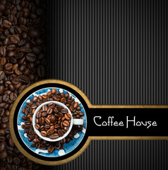 Template for Coffee House Menu