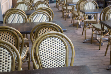 Cafe Table and Chairs, Stortorget Square, Gamla Stan - City Centre, Stockholm