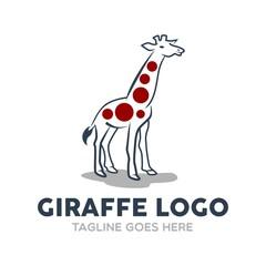 Unique Giraffe Logo