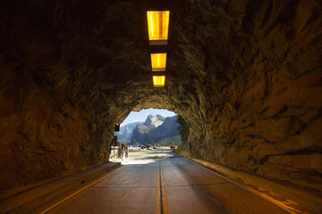 Papiers peints Tunnel Yosemite National Park