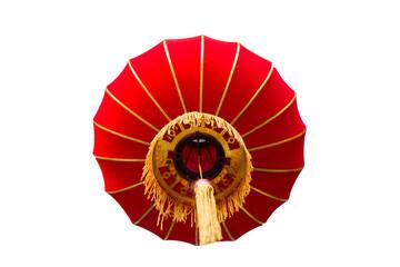 Chinese lantern isolated