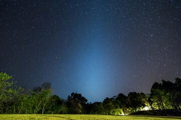 Zodiacal Light at Watchan Royal Project (Chiang Mai, Thailand)