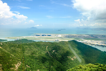 Hong Kong Intenational Airport (view from Ngong Ping 360 cable car)