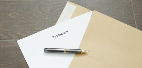 Testament, letzter Wille