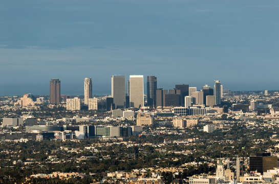 Skyline LA & Santa Monica