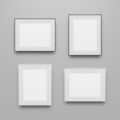 Realistic Frames Templates Collection