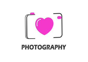 Photography Logo Illustration Design