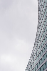 Windows office building, business center for background. Architecture, construction, repair industry concept. With empty space for text. Template, blank, form