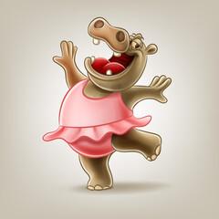 hippopotamus dance