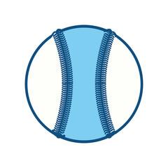 Baseball ball isolated icon vector illustration graphic design