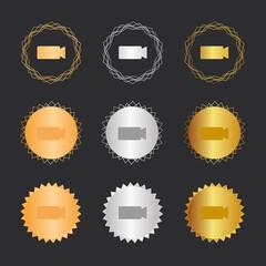 Kamera aufnehmen - Bronze, Silber, Gold Medaillen